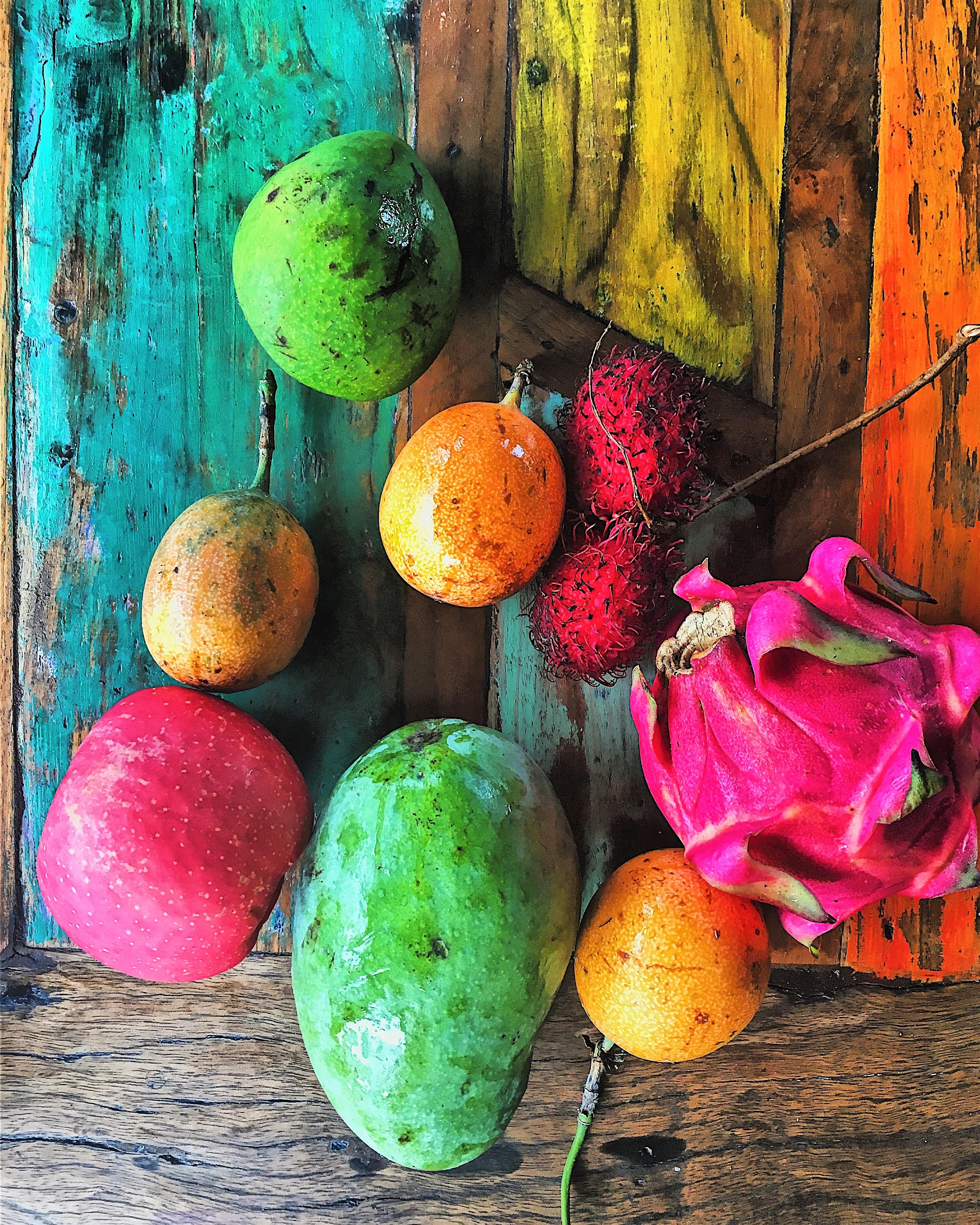 bali színek gyümölcsök mango mondolo