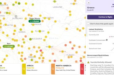 utazási korlátozások országonként térképen greatescape mondolo
